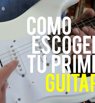 Como escoger tu primera guitarra